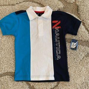 Nautica polo shirt size 3T